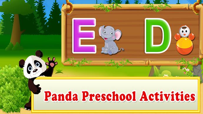Panda Preschool Activities - 3